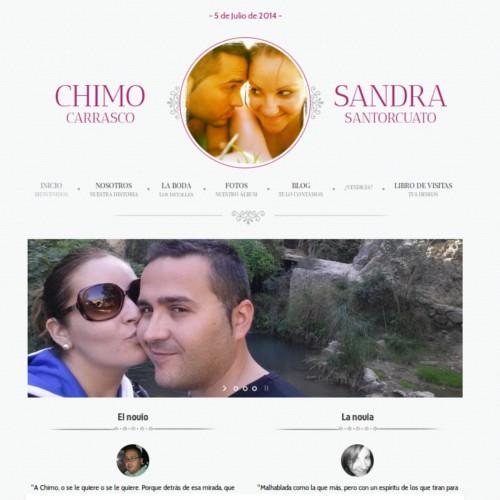 Boda Sandra y Chimo