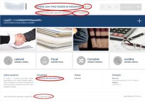 Captura de un sitio web creado con WordPress hackeado (anuncios de viagra)