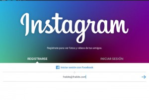 App de Instagram
