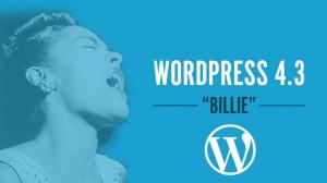 nuevo wordpress 4.3